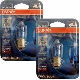 ซื้อ Osram หลอดไฟหน้าซีนอนสำหรับรถจักรยานยนต์ 12V 35 35W Cool Blue สีขาวฟ้า 4000K 2 หลอด ใหม่
