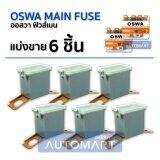 ซื้อ Oswa Main Fuse ฟิวส์เมน Tfr ขาถ่างสั้น Sl 120A สีเทา 6 Pcs ถูก ใน กรุงเทพมหานคร