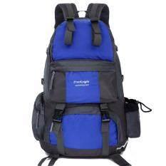 ราคา กลางแจ้งและผจญภัยกระเป๋าเป้สะพายหลังผู้ชายเดินทางกีฬากระเป๋าเป้สะพายหลัง สีฟ้า เป็นต้นฉบับ