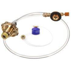 ขาย Outdoor Camping Propane Lp Gas Refill Adapter Flat Cylinder Tank Coupler Valve Intl ใหม่