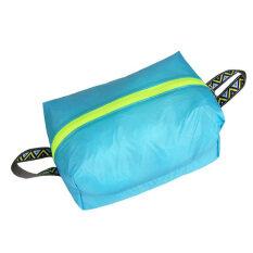 ราคา Outdoor Travel Kit Tote Laundry Shoes Pouch Clothing Luggage Bag M Blue ใหม่ล่าสุด