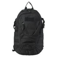 ซื้อ กลางแจ้งกันน้ำ 20ลิตรการแคมป์ทหารทางยุทธวิธีกระเป๋าเป้กระเป๋าสะพายเป้เดินป่าสีดำ Unbranded Generic ถูก