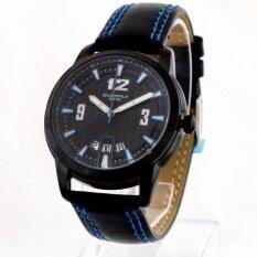 ขาย Overfly Eyki นาฬิกาข้อมือผู้ชาย สีน้ำเงิน สายหนัง รุ่น Bw 00M ใหม่