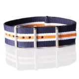 ราคา สายนาฬิกา Overwrist Nylon Nato Strap Navy White Orange 22Mm สาย นาโต้ สีน้ำเงิน ขาว ส้ม Overwrist เป็นต้นฉบับ