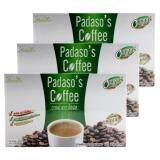 ราคา Padaso S Coffee กาแฟพาดาโซ่ 10 ซอง 3กล่อง ออนไลน์