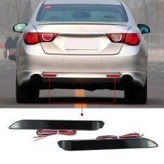 ราคา Pair Of Rear Bumper Reflect Warning Light Plate Replacement Modification Lamp For Toyota Wish 10Harrier Alphard 20 Series Camry Reiz E Z Intl Unbranded Generic เป็นต้นฉบับ