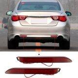 ขาย Pair Of Rear Bumper Reflect Warning Light Plate Replacement Modification Tail Brake Lamp For Toyota Wish 10Harrier Alphard 20 Series Camry Reiz E Z Intl ถูก