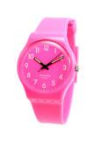 ราคา Pasnew นาฬิกาข้อมือผู้หญิง สีชมพู สายเรซิ่น รุ่นSwatchgreen ใหม่ ถูก