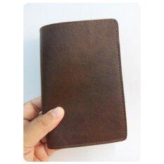 โปรโมชั่น ปกพาสปอร์ต Passport หนังกึ่งเงา สีน้ำตาลดำ กรุงเทพมหานคร