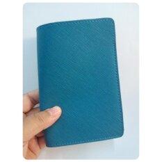 ขาย ปกพาสปอร์ต Passport รุ่น 801 สีน้ำเงินเขียว เป็นต้นฉบับ