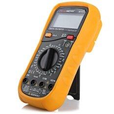 ขาย Peakmeter My61 Digital Multimeter Ac Dc Voltage Current Resistance Capacitance Multitester Intl เป็นต้นฉบับ