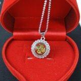 ขาย Pearl Jewelry จี้กังหัน นำโชค เพชรสวิส พร้อมสร้อยคอ Lc208 เป็นต้นฉบับ