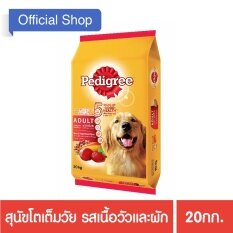 PEDIGREE® Dog Food Dry Adult Beef and Vegetable Flavour เพดดิกรี®อาหาร