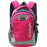 Peimm Modello Backpack กระเป๋าเป้สะพายหลัง กันน้ำ มัลติฟังก์ชั่น สไตส์เกาหลี สีชมพู Thailand
