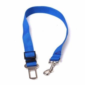 สัตว์เลี้ยงรถเข็มขัดนิรภัยเข็มขัดนิรภัยสายรัดตะกั่วสุนัข ปรับ