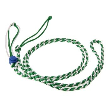 Pet Hamster Cage Leash Adjustable Harness Rope(Green) - intl