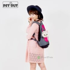 Pet Out กระเป๋าเป้สะพายหน้าหลังสำหรับใส่แมว ถูก