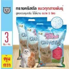 ขาย Pet8 ทรายแมว ทรายคริสตัล กลิ่นแอปเปิ้ล ควบคุมกลิ่น ใช้ได้นาน สำหรับแมวทุกสายพันธุ์ ขนาด 5 ลิตร X 3 ถุง Pet8 เป็นต้นฉบับ