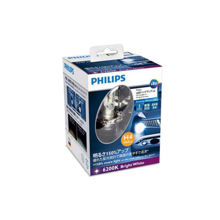 philips x treme ultinon led 6200k 5000lm. Black Bedroom Furniture Sets. Home Design Ideas