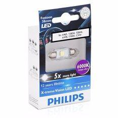 ราคา Philips X Treme Vision Festoon Led 38Mm 6000K ราคาถูกที่สุด