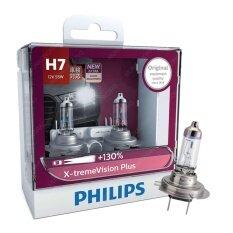 ขาย Philips หลอดไฟหน้ารถยนต์ X Treme Vision Plus 130 3700K H7