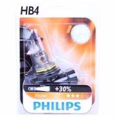 ราคา Phillips หลอดไฟหน้า Hb4 รุ่นมาตรฐาน 9006 Pr C1 12V 55W สำหรับ Honda Civic 2004 2011 Philips