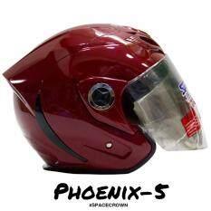 ขาย ซื้อ หมวกกันน็อครุ่น Phoenix 5 Space Crown Helmet ใน กรุงเทพมหานคร