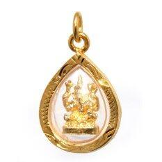 ขาย พระพิฆเนตร จี้พระพิฆเนตร กะไหล่ทองทรงหยดน้ำ รุ่น Tk 117 Sattha Baramee ออนไลน์