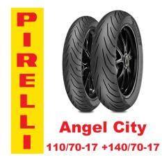 ซื้อ Pirelli Angel City 110 70 17 140 70 17 Pirelli เป็นต้นฉบับ