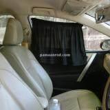 ขาย Pmd ผ้าม่านบังแดดรถยนต์ ที่กันแดดรถ ปรับขนาดได้ สีดำ Pmd ผู้ค้าส่ง