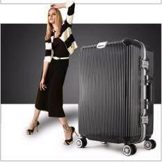 ซื้อ Jm กระเป๋าเดินทางล้อลาก 4 ล้อ ขนาด 24นิ้ว รุ่น Lv187 Black Jm ออนไลน์