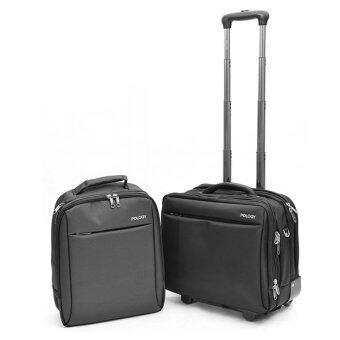 POLOGY กระเป๋าแล็ปท็อป 14\ 18\ รุ่น Milestone DUO (สีดำ)