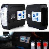 ขาย Portable 12V 100Psi Car Motor Motorcycle Tire Inflator Pump Auto Air Compressor With Preset Function Intl