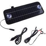 ขาย Portable Solar Panel Power Battery Charger Backup For Car Boat Automobile 12V 4 5W เป็นต้นฉบับ