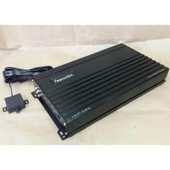 POWER CLASS D IMPOSSIBLE IMP-680 เพาเวอร์แอมป์คลาสดี ยี่ห้อ Impossible รุ่น IMP-680กำลังขับสูงสุด 5700 watt-