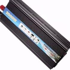 ส่วนลด Power Inverter หม้อแปลงไฟฟ้า 12V เป็น 220V สีดำ กรุงเทพมหานคร