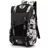 ราคา Printed Fashion Shoulder Bag Korean Version Of Large Capacity College Students Backpack Junior High Sch**l Student Bags Men Fashion Trend Canvas Travel Shoulders Computer Bag Female Intl เป็นต้นฉบับ Unbranded Generic