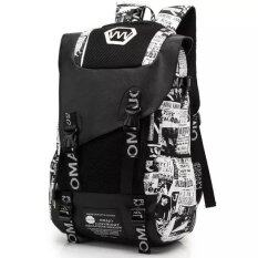 ราคา Printed Fashion Shoulder Bag Korean Version Of Large Capacity College Students Backpack Junior High Sch**l Student Bags Men Fashion Trend Canvas Travel Shoulders Computer Bag Female Intl Unbranded Generic ใหม่