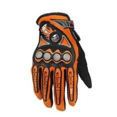 ขาย Pro Biker 1 Pair Motorbike Gloves Breathable Full Finger Motorcycle Gloves Orange M Intl ออนไลน์
