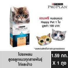 ซื้อ Pro Plan Kitten Chicken Rice Formula อาหารเม็ดสำหรับลูกแมว แมวตั้งครรภ์ และแม่แมวให้นมทุกสายพันธุ์ 1 59Kg แถมฟรี หมอนแมว 1 ใบ ถูก ใน กรุงเทพมหานคร