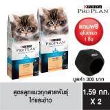 ซื้อ Pro Plan Kitten Chicken Rice Formula อาหารเม็ดสำหรับลูกแมว แมวตั้งครรภ์ และแม่แมวให้นมทุกสายพันธุ์ 1 59Kg 2 แพ็ค ฟรี อุโมงค์แมวโปรแพลน ถูก กรุงเทพมหานคร