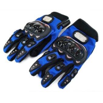 PROBIKER ถุงมือเต็มนิ้ว MC-01 ลิขสิทธิ์แท้ (สีน้ำเงิน)
