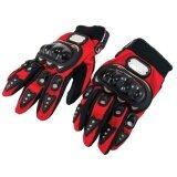 โปรโมชั่น Probiker ถุงมือเต็มนิ้ว Mc 01 ลิขสิทธิ์แท้ สีแดง ใน ไทย