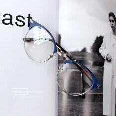 ส่วนลด คู่เกาหลีสำหรับผู้ชายและผู้หญิงครึ่งกรอบสายตาสั้นกรอบแว่นตากระจกธรรมดา Unbranded Generic ใน ฮ่องกง