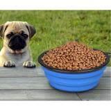 ซิลิโคนชามสุนัข ชามน้องหมา น้องแมว แบบซิลิโคนพับเก็บได้ พกพาสะดวก ใส่ได้ทั้งอาหารและน้ำดื่ม สีน้ำเงิน Unbranded Generic ถูก ใน กรุงเทพมหานคร