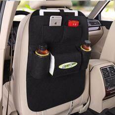 ขาย ที่ใส่ของในรถเอนกประสงค์ กระเป๋าเก็บของหลังเบาะ ชนิด ผ้า สีดำ Unbranded Generic เป็นต้นฉบับ