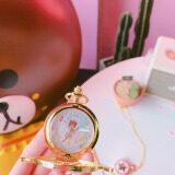 ฮาราจูกุนาฬิกาพกญี่ปุ่นใหม่นุ่มนักเรียน ถูก