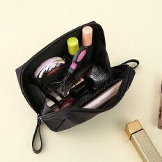 โปรโมชั่น กระเป๋าง่ายๆกระเป๋าเครื่องสำอางทรัมเป็ตแบบพกพาเดินทาง Unbranded Generic