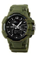 ขาย ซื้อ ออนไลน์ ผู้ชาย กีฬาปีนเขาดำน้ำนาฬิกาข้อมือกันน้ำสีเขียว