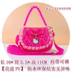 กระเป๋าสะพายข้าง ขอบลูกไม้ของเด็กหญิง สไตล์เกาหลี.